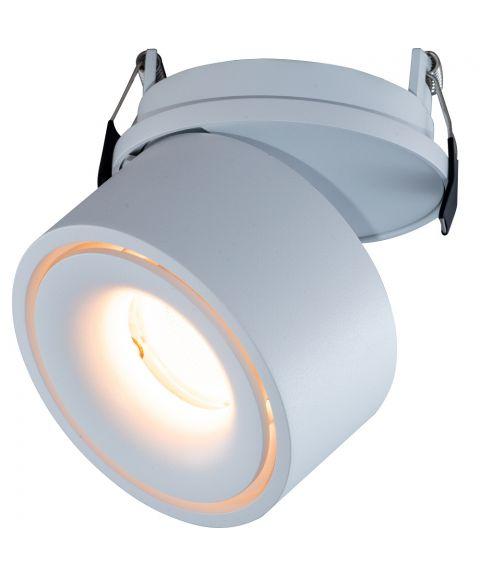 Glow 82 innfelt justerbar spot 2700K 9W LED CRI90 (eks.driver)