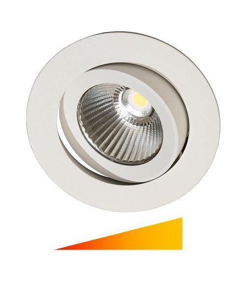 E95 downlight, colour toning LED inklusive driver, Hvit