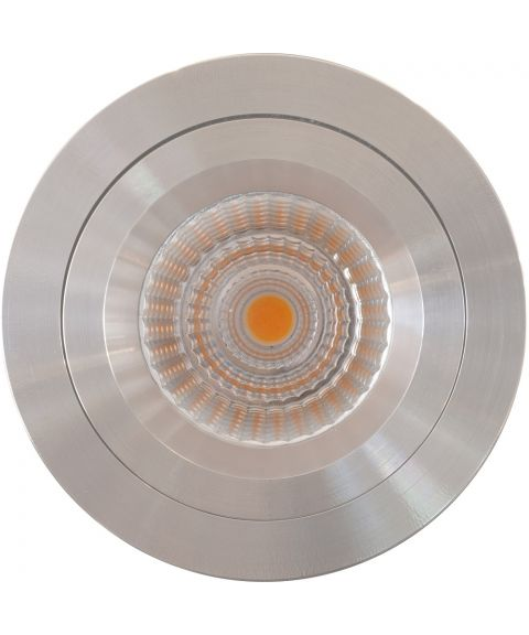 Nebraska HL rund downlight, 45°, 9W LED, inox aisi 316