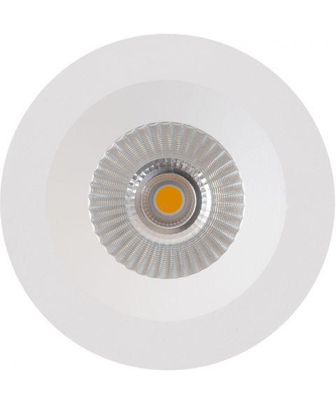 E95 Downlight, dimbar 5W LED, IP44, inkl driver