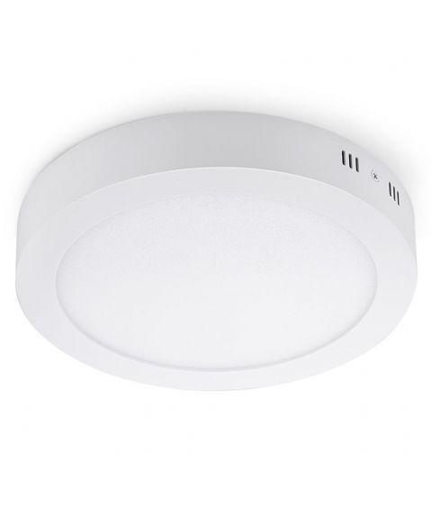 Piatto taklampe, m/bevegelsesensor, 18W LED, diameter 24 cm