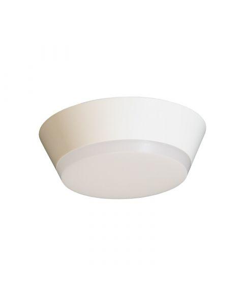 Draft taklampe, diameter 20 cm, 12W LED 3000K 800lm, dimbar
