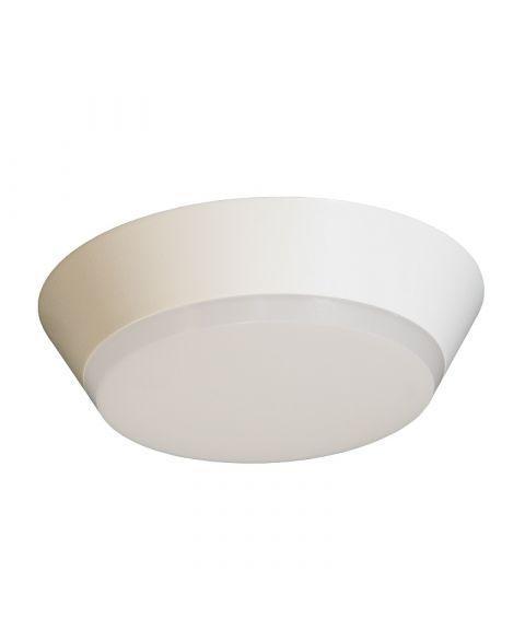 Draft taklampe, diameter 26 cm, 18W LED 3000K 1100lm, dimbar