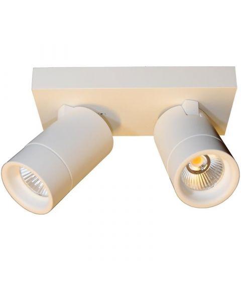 Levi duo spot, dimbar LED, 2700K 2x468lm