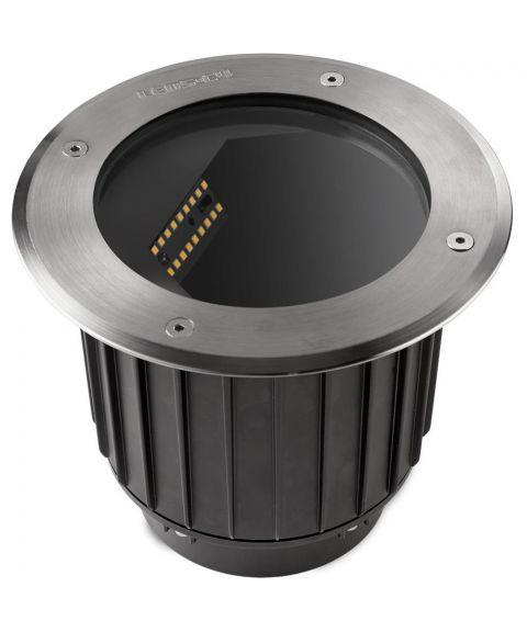 Gea nedfelt, diameter 18,5 cm, inox aisi 316, 17W LED
