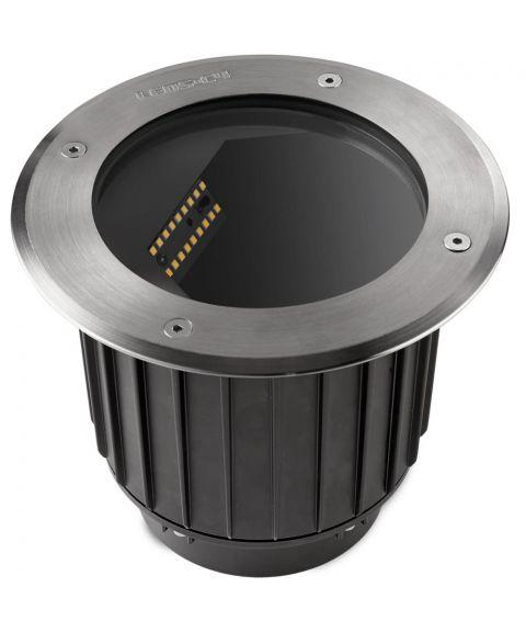 Gea nedfelt, diameter 22,5 cm, inox aisi 316, 24W LED