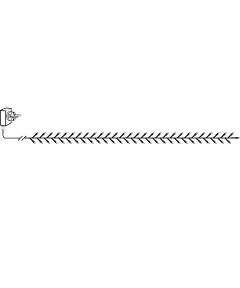 Serie LED (x1200) slynge, 24 meter, Golden