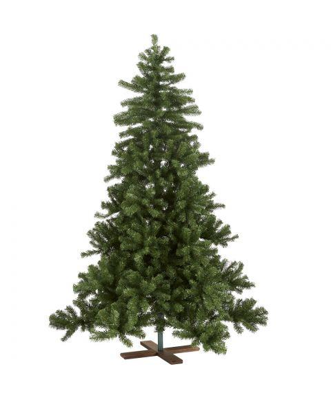 Juletre 200 cm, Vidaby med trefot, Grønn