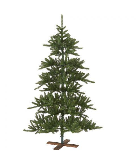 Juletre 210 cm, Arvika med trefot, Grønn