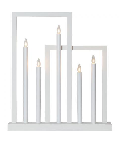 Frame lysestake med 5 lys, høyde 51 cm