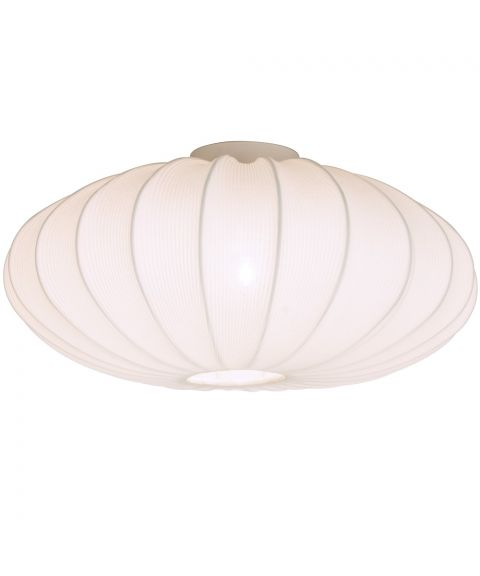Mamsell taklampe, diameter 55 cm, Hvit