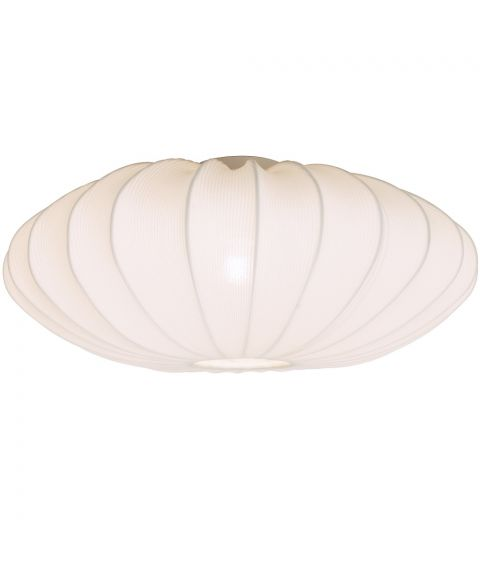 Mamsell taklampe, diameter 65 cm, Hvit
