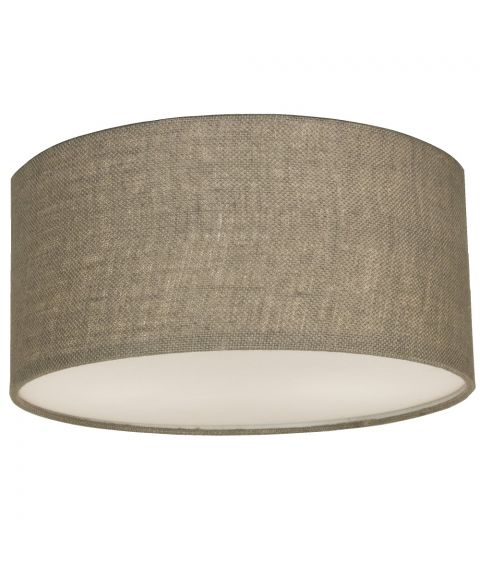 Bendir taklampe, diameter 38 cm, Grå