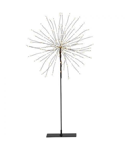 Firework Stående 50 cm, LED (x120), Sort, Varmhvit lys