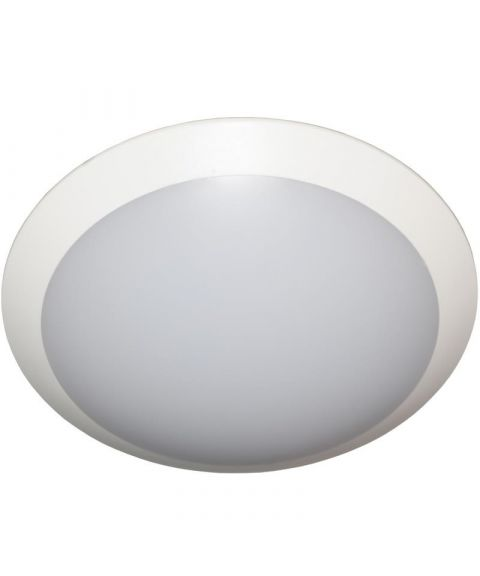 Saturn taklampe/vegglampe, 16W LED, Hvit, med bevegelsessensor