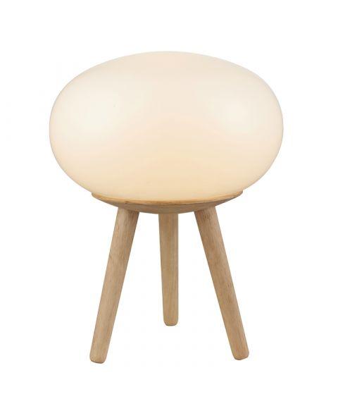 Happy Globe bordlampe / gulvlampe, høyde 35 cm