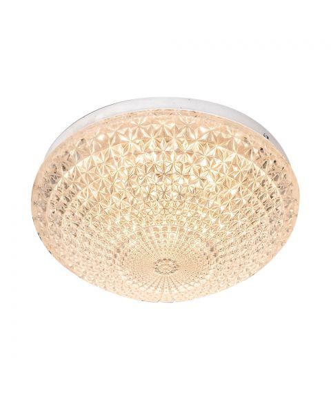 Glance plafond, diameter 21 cm, 12W LED 2800K 960lm