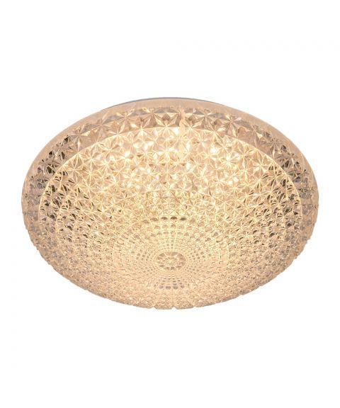 Glance plafond, diameter 28 cm, 18W LED 2800K 1440lm