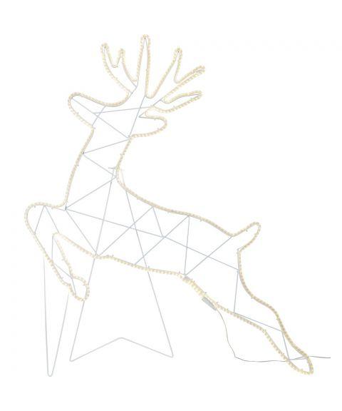 Neoled Siluett Reinsdyr hengende/stående, høyde 100 cm