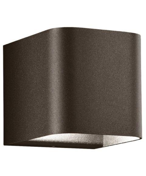 Intro vegglampe, lys opp og ned, dimbar LED 3000K 480lm