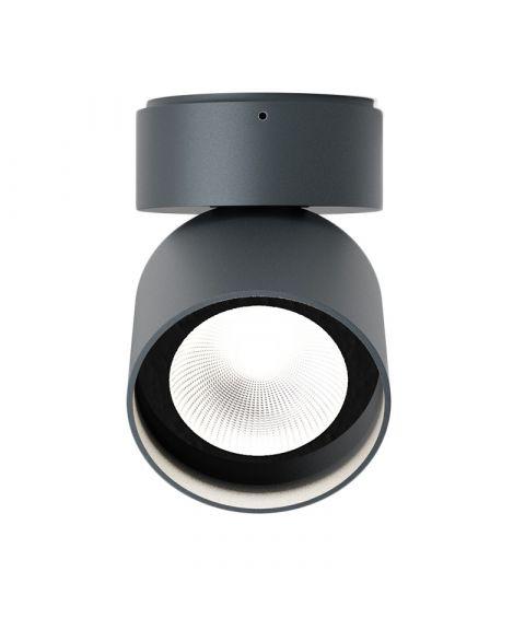 Pro R taklampe med justerbar spot, dimbar LED 3000K 1150lm