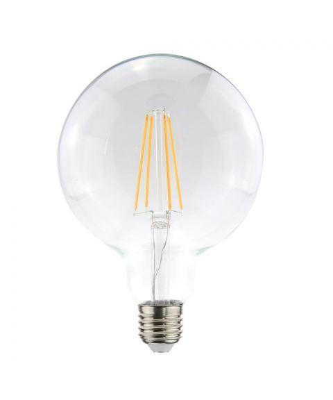 Globe E27 2700K 7W LED 806lm, Med 3 step-dimmer (100/50/7%), Diameter 12,5 cm