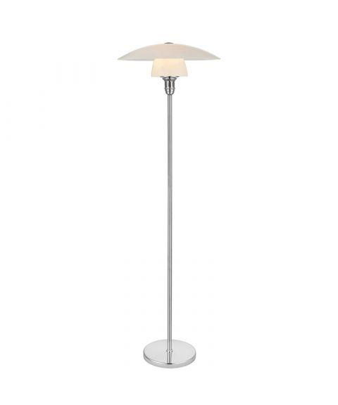 Bohus gulvlampe, høyde 150 cm, Opalhvit