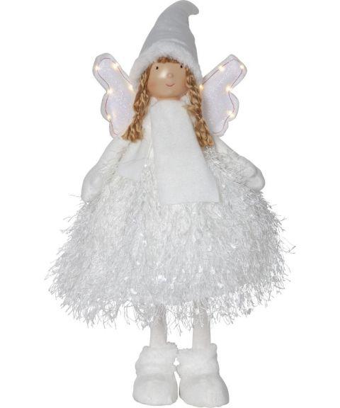 Nova engel 55 cm, Hvit