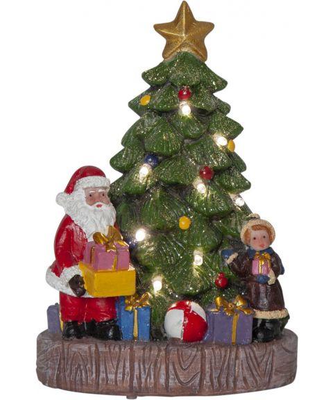 Kidsville juletre m/nisse og jente