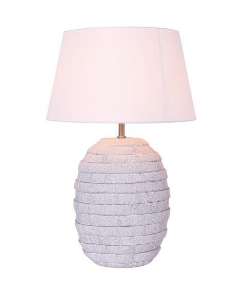 Aldo bordlampe, stor (u/skjerm), høyde 43 cm