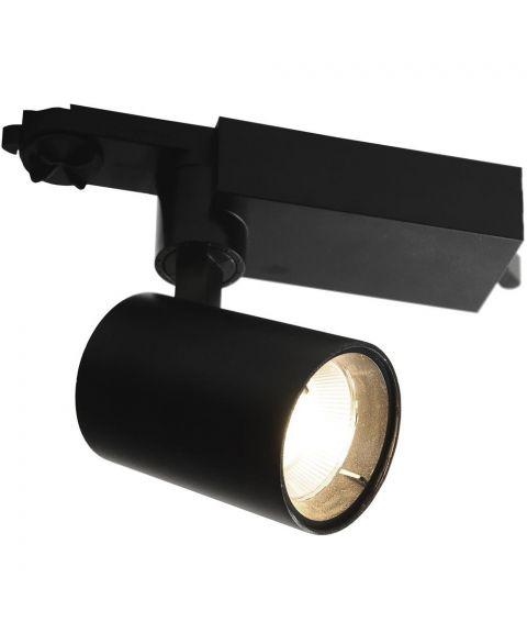 Arietta spot for Global 3T-skinne, 15W dimbar LED, 36° spredning, 2700K, Sort