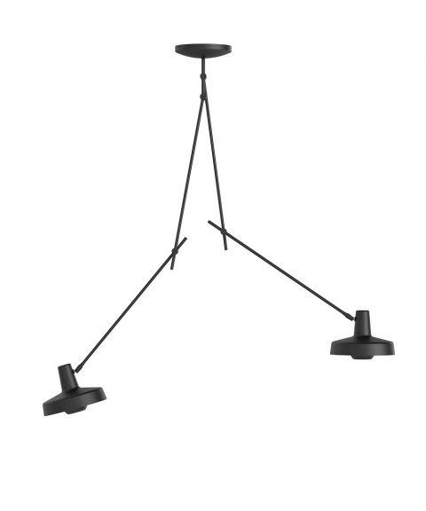 Arigato 2 L dobbel taklampe, lang modell