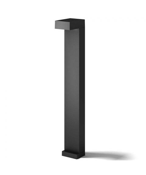 Arn pullert, høyde 70 cm, 6W LED 320lm 2700K, Sort