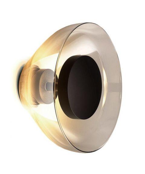 Aura vegglampe, diameter 18 cm, dimbar LED 2700K 447lm
