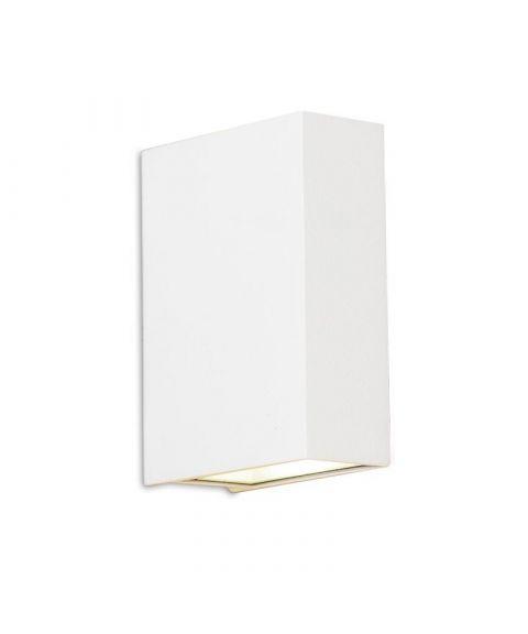 Biscaya duo vegglampe 2x3W LED, Hvit