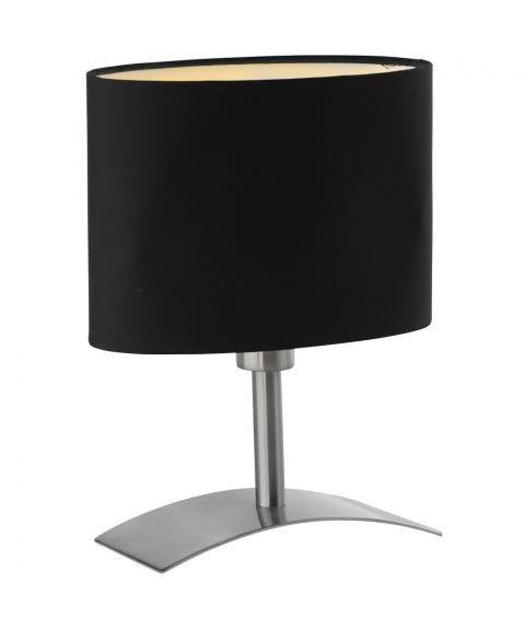 Bridge bordlampe, høyde 26 cm, med skjerm