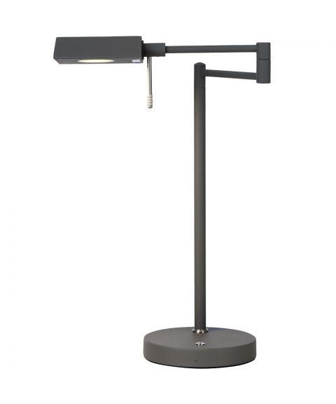 Canton bordlampe, høyde 42 cm, LED med Step-dimmer
