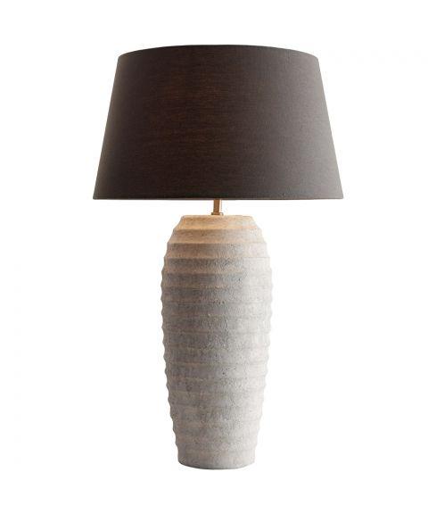 Carlo bordlampe (u/skjerm), høyde 73 cm