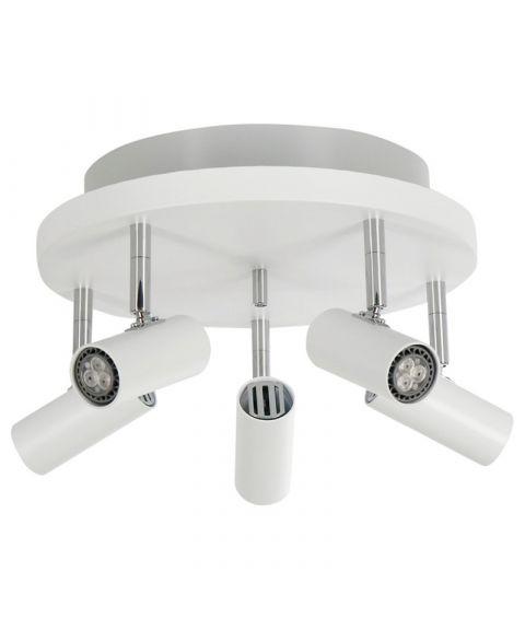 Cato S6017 takspot med opplys, inkl LED-pærer, dimbar