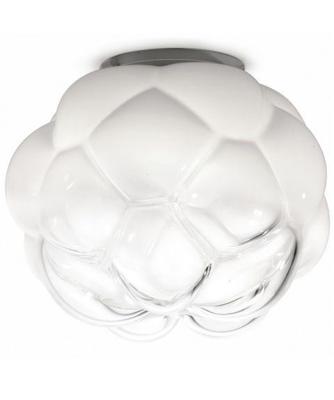 Cloudy taklampe, diameter 26 / 40 cm