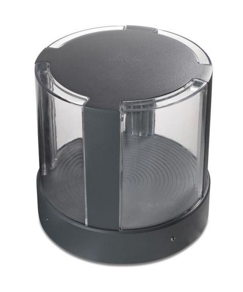 Compact Beacon, 17W LED, høyde 20 cm, Antrasitt