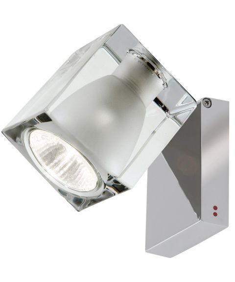 Ice Cube vegglampe/taklampe med kabelutgang