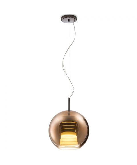 Beluga Royal takpendel, dimbar 17W LED, diameter 30 cm
