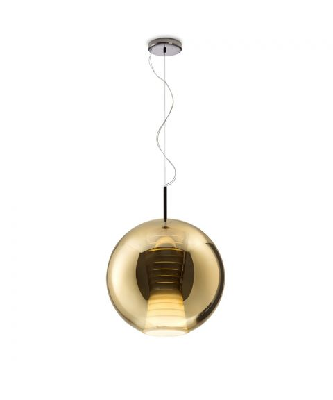 Beluga Royal takpendel, dimbar 17W LED, diameter 40 cm