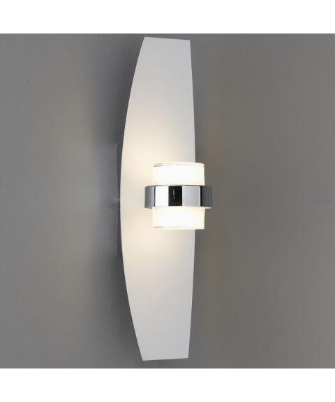 Dean vegglampe, LED med dimmer, høyde 42 cm