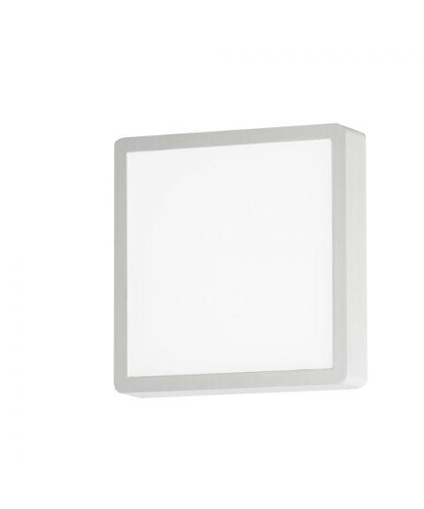 Diva Q vegglampe/taklampe, IP54, 15W LED 3000K 940lm