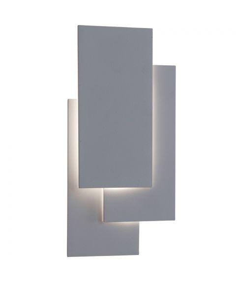 Drabant vegglampe, 18W LED, høyde 26 cm, Hvit