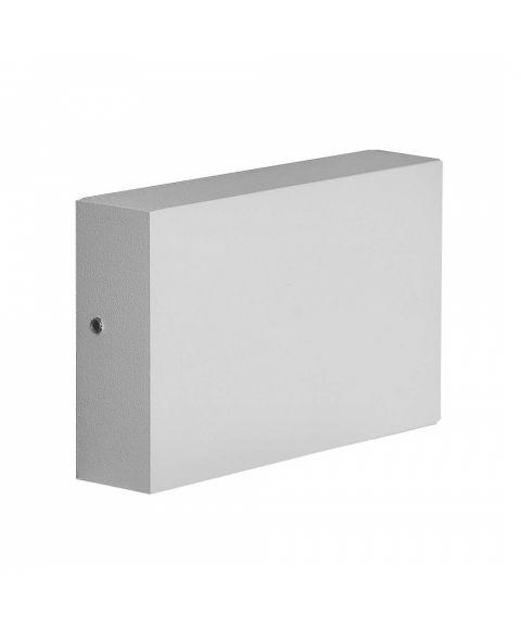 Flatbox utendørs vegglampe, LED 3000K 420lm, Bredde 11 cm