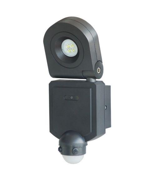 Flood justerbar lyskaster, 10W LED med bevegelsessensor