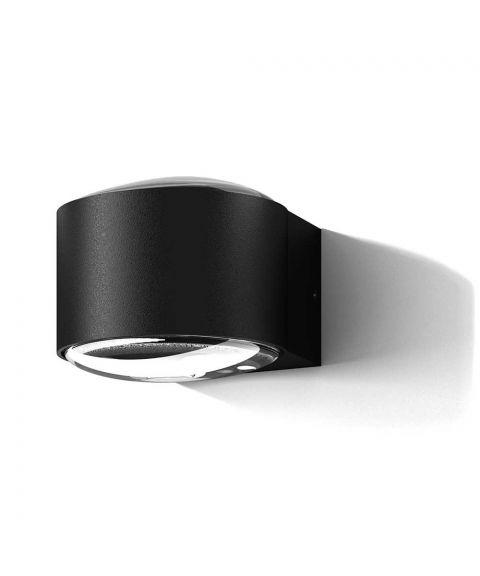 Frey IP65 vegglampe, LED 640lm 2700K